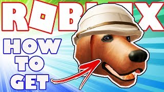 [BONUS ITEM] How To Get Dr.Livingstpup Hat in Roblox - Bonus Catalog Item for Robux Card Purchase