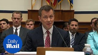 Peter Strzok says FBI has instructed him not to answer questions - Daily Mail
