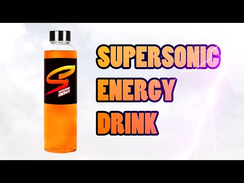Supersonic - Energy Drink Ad