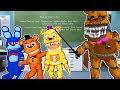 АНИМАТРОНИК ШКОЛА МОНСТРОВ ДЕВУШКА НУБ FNAF Майнкрафт в Реальной жизни Видео Для детей Мультик Дети