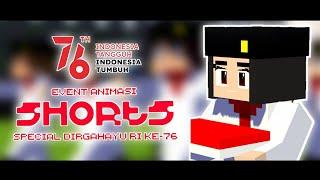 Animasi Spesial Dirgahayu RI ke - 76 🇮🇩 || Animasi Minecraft Indonesia || BAGAS CRAFT