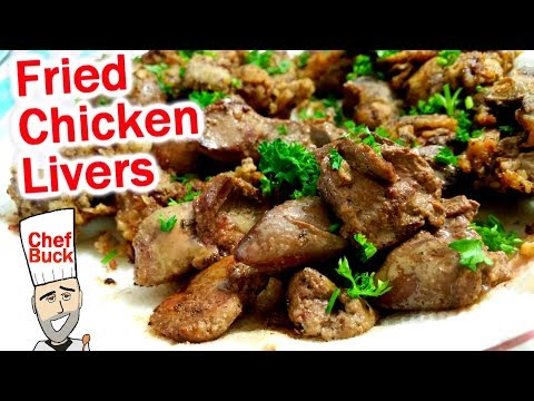 Best Fried Chicken Livers Recipe