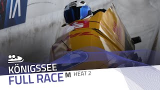 Königssee | BMW IBSF World Cup 2020/2021 - 2-Man Bobsleigh Heat 2 | IBSF Official