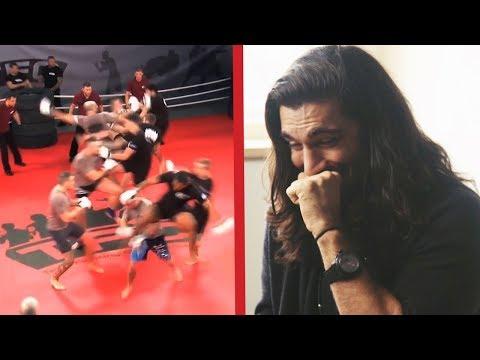UFC Fighters React To Team MMA Feat. Elias Theodorou And Misha Cirkunov