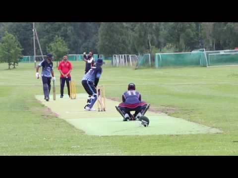 Safir hayat-NM final 2016-Oslo cricket club-Norway