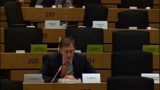 Bernard Monot (FN) asking the European Investment Bank president