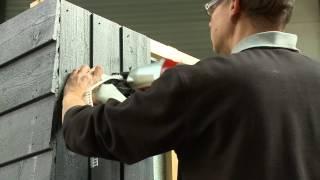 Cape Cod gevelbekleding - montage instructievideo