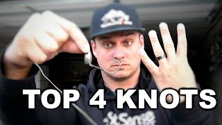 TOP 4 Knots Every Fisherman MUST KNOW