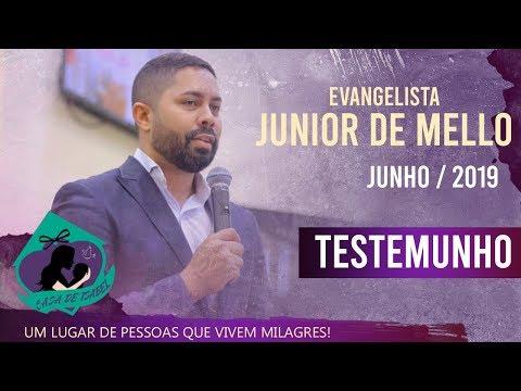 Evangelista Junior De Mello - Testemunho Casa De Isabel | Junho
