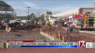 OSHA investigating deadly Brier Creek trench collapse