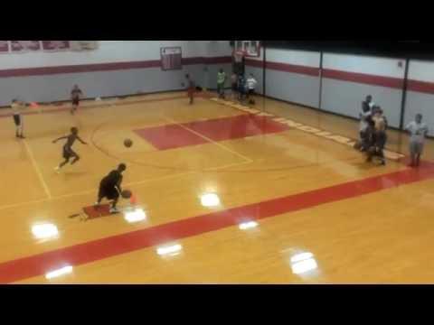 Basketball practice at ramay junior high school