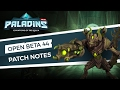 Paladins - Patch Preview - Open Beta 44