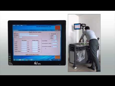 Dimension and Weight Scanning System: Cubizon Series by Falcon Autotech