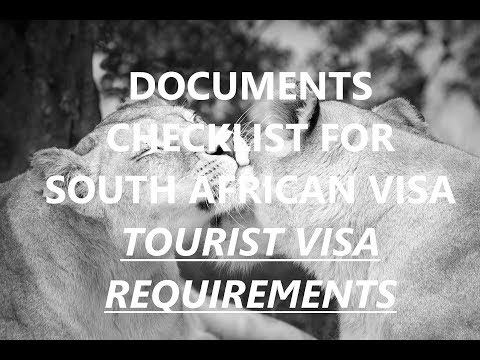 How to Apply South Africa Visa | South Africa Visa Requirements | Visa for South Africa
