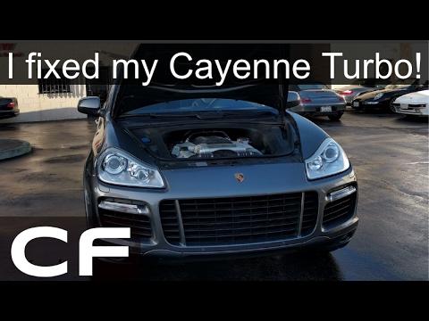 My Porsche Cayenne is running again! Ignition Coil Update