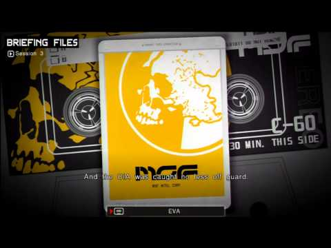 (Post-MGS3 Spoilers) Peace Walker - EVA's Tapes