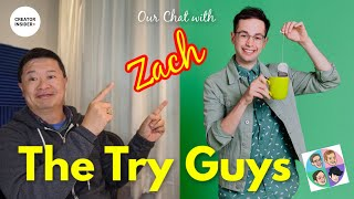 Zach from The Try Guys: Insights on How to Succeed on YouTube!