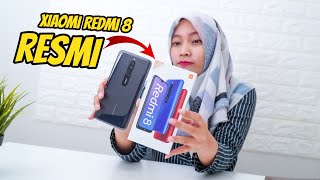 UNBOXING XIAOMI REDMI 8 RESMI INDONESIA! Test Antutu - Test Game PUBGM