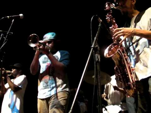 Rebirth Brass Band at The Kessler Theater in Dallas, Texas