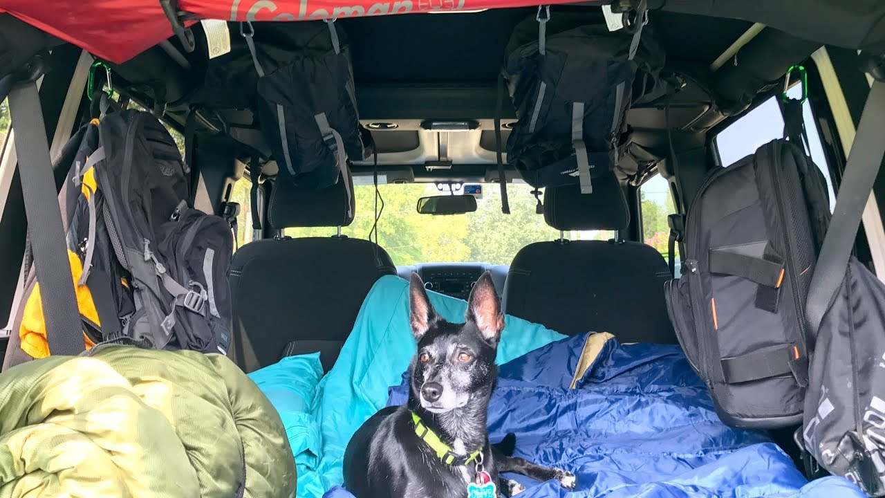 Jeep Camping Setup Youtube Wrangler Camper Jeepcamping
