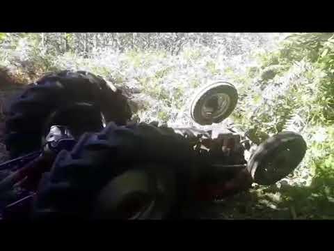 Fallece en Friol aplastado por su tractor