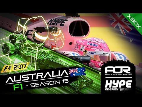 AOR Hype Energy F1 Leagues | XB1 Oceania S2 | R1: Australian GP