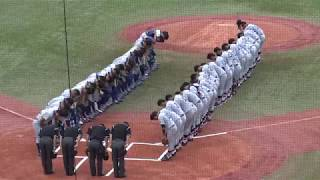 東京六大学野球 2017年秋季リーグ 東大✖ 慶大