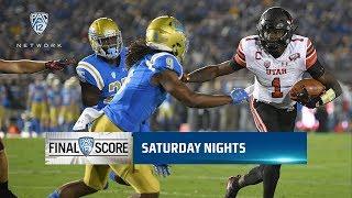 Highlights: No. 23 Utah football rumbles past UCLA behind Zack Moss' three touchdowns