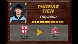 Thomas Tien - CSSHL to WHL | Stand Out Sports Client Hall of Fame