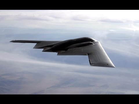 Northrop Grumman B-2 Spirit Bomber Flying & Takeoffs