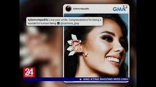 Ilang celebrity, nagpaabot ng pagbati kay Miss Universe 2018 Catriona Gray
