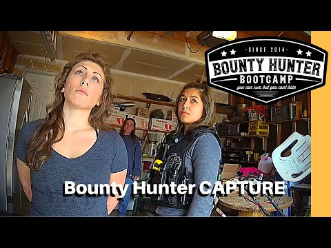 Woman Claims Covid-19 Infection To Avoid Going To Jail | Bounty Hunter Capture