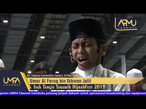Isak Tangis Tarawih Hijrahfest 2019 Umar Al Faruq