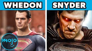 Top 10 Biggest Changes in Zack Snyder's Justice League