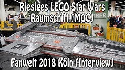Riesiges LEGO Star Wars Raumschiff (Moc): Interview mit Erbauer