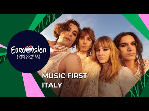 Music First with Måneskin from Italy ?? - Eurovision Song Contest 2021