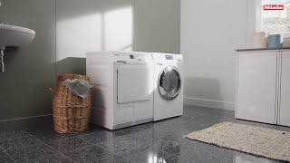 Instructievideo | Zo reinigt u de pluizenfilters en condensor van uw Miele-condensdroger