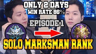 EP1 When Global Ranker Played Solo Rank Only 17hours To Be Mythic With 86 Wr ㅣMobile Legends