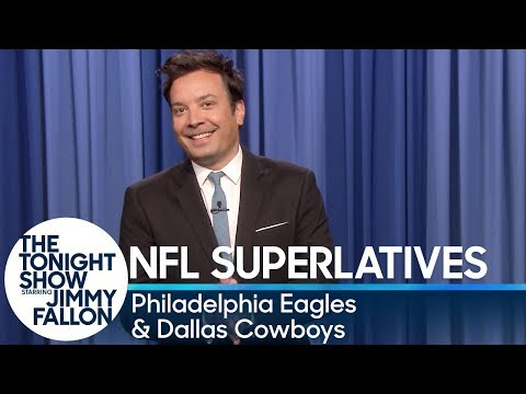 Tonight Show Superlatives: 2019 NFL Season - Eagles and Cowboys