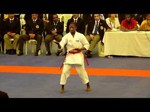 2011 All Africa Games Senior Male Kata Final