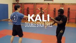 Kali Double Stick Gunting Drills   Filipino Martial Arts Abcedario Drill
