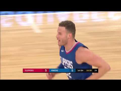 LA Clippers vs Knicks Full Highlights   11-20-17