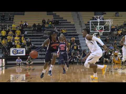 Auburn Basketball Highlights at Missouri