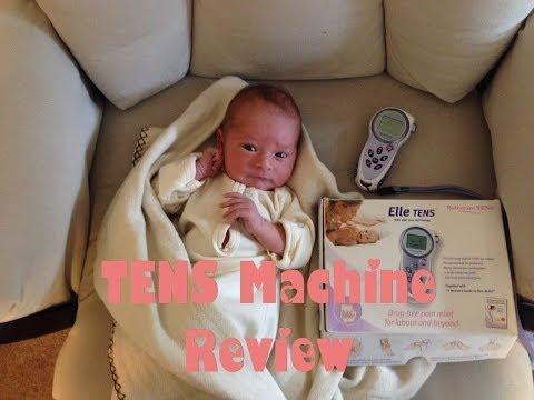 Elle TENS Machine Review; Natural Pain Control During Labor