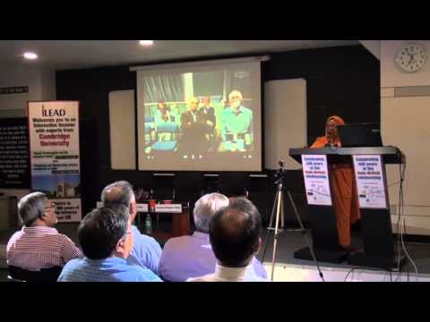 Kolkata Cambridge Video Conference- Part 2 of 4