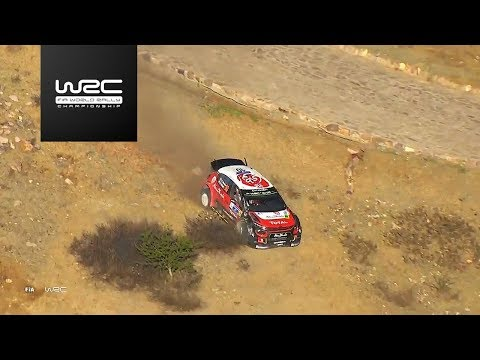 WRC - Rally Guanajuato México 2018: (NO) CRASH Kris Meeke