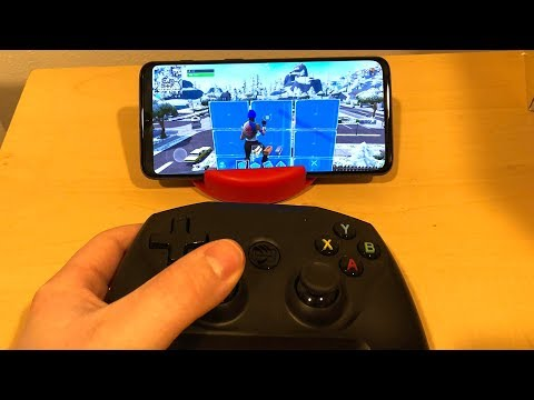 How To Play Fortnite MOBILE With A CONTROLLER..