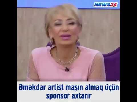 Əməkdr artist maşın almaq üçün sponsor axtarir