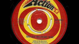 MELVIN DAVIS - This Love Was Meant To Be