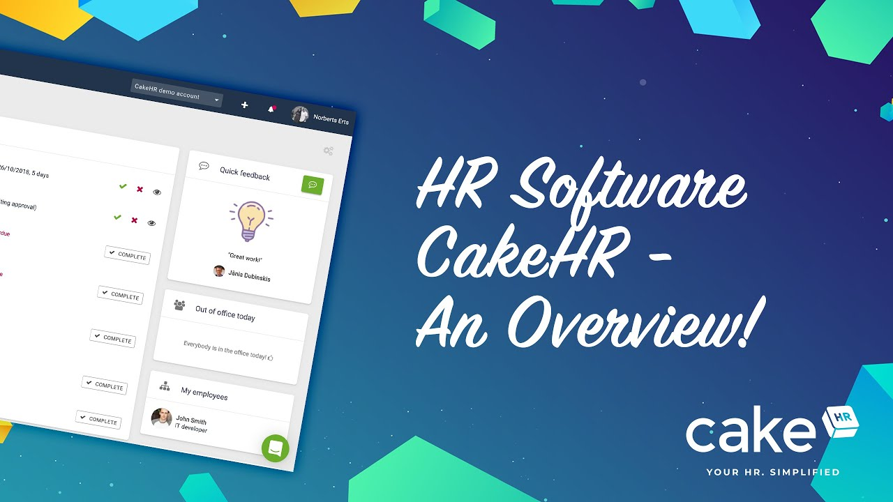 HR Software for Google Apps - CakeHR - G Suite Marketplace